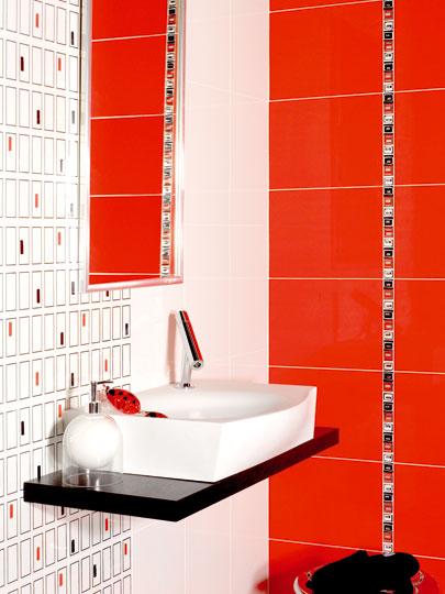 Furdoszoba Csempe Piros – Siamso.com